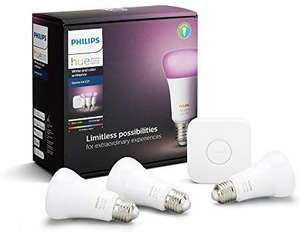 Philips Hue White and Colour Ambiance Starter Kit für 85,83€ [amazon.co.uk]