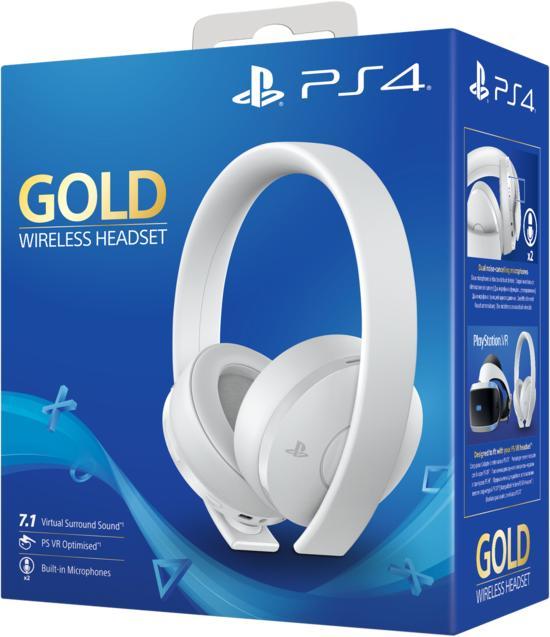 Sony Playstation Wireless Headset Gold - weiß für 19,99€ bei GameStop Filialen