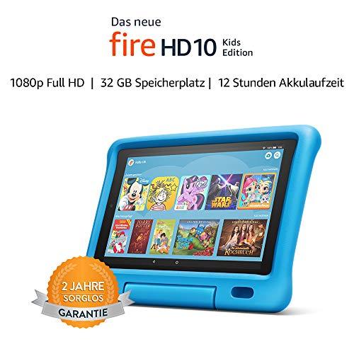 """Das neue (2019) Amazon Fire HD 10,1"""" Kids Tablet in 3 Farben und Größen 7"""" 59,99€, 8"""" 84,99€"""