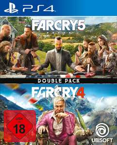 Far Cry 5 + Far Cry 4: Double Pack (PS4) für 29,99€ (GameStop)