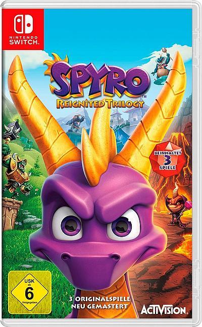 Spyro Reignited Trilogy (Switch) für 21,61€ [paydirekt]