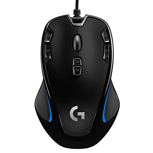 [Prime] Logitech G300s Optical Gaming Maus (kabelgebunden, Avago ADNS-A3055 Sensor) schwarz