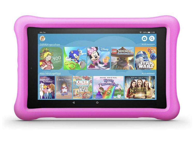 "Amazon Fire Tablet 8 Kids Edition, 8"" HD IPS Display, 32 GB Speicher"
