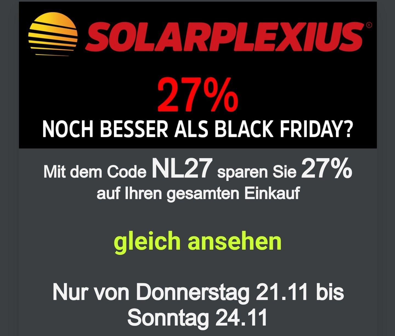 Solarplexius Rabattcode