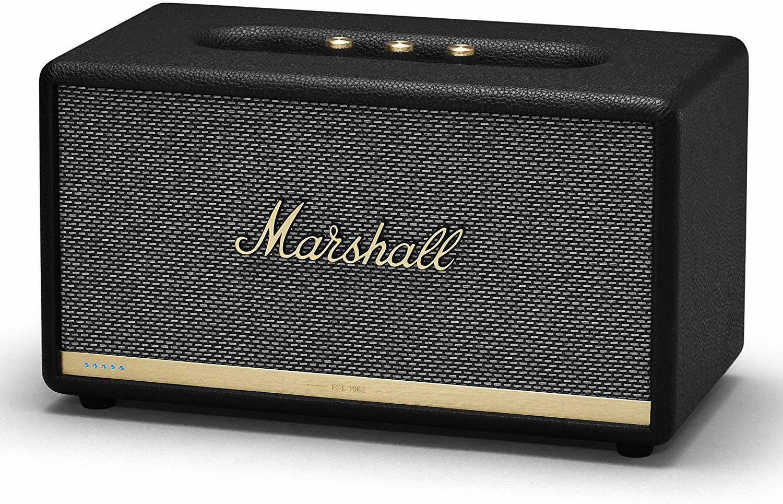 Marshall Stanmore II: Alexa Version (80W, Bluetooth 5.0, aptX, App-Steuerung, Aux-In, Netzbetrieb)