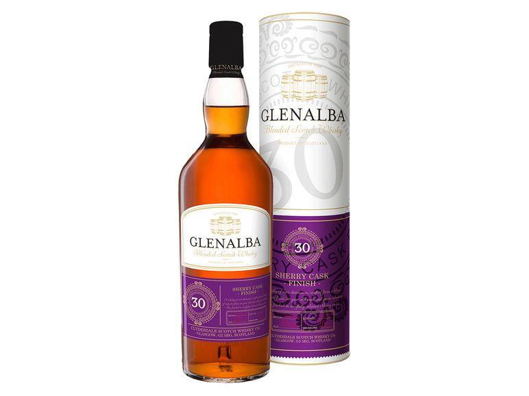 Whisky oder Whiskey bei LIDL zum guten Kurs u.a. Glenalba 30