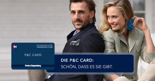 P&C Card mit 10€ Willkommens Gutschein