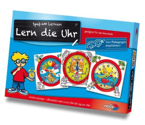 Amazon Noris 606076152 606076152-Lern die Uhr, Kinderspiel 5,03 Euro