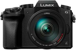 Panasonic Lumix DMC-G70 Systemkamera Kit 14-140mm Objektiv