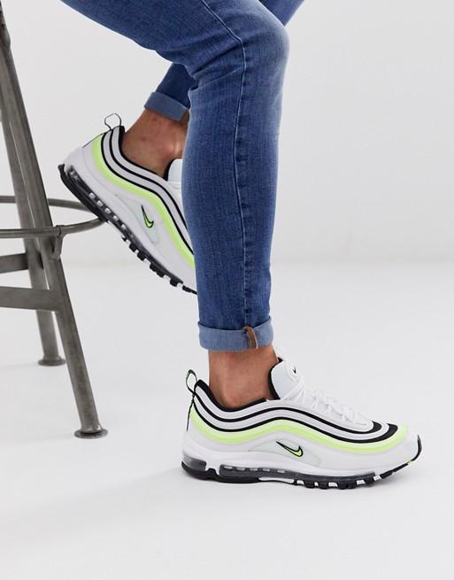 Nike Air Max 97 48,5 – Sneaker mit Neonstreifen