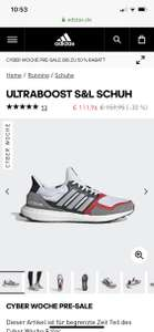 Sale bei Adidas, 50% + 20% Extra im Outlet