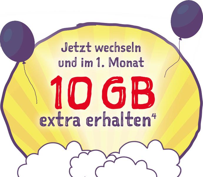 Neukunden: Norma Connect Smart S,M,L - 1 Monat 10GB Extra (Netz D1)