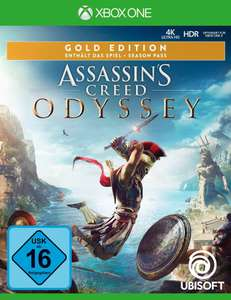[baur paydirekt] Assassin's Creed Odyssey Gold Edition Xbox One für 16,94 EUR