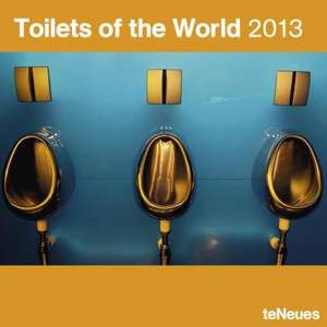 Der Kalender ist für'n Arsch: Toilets of the World 2013 @Amazon