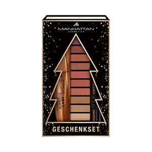 Amazon Prime: Manhattan Cosmetics Geschenkset Xmas Mascara & Palette