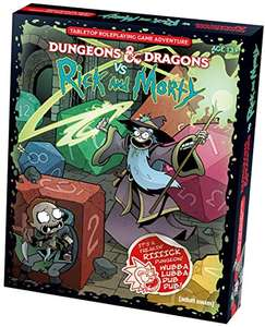 Dungeons and Dragons vs Rick und Morty Edition (Amazon.com)
