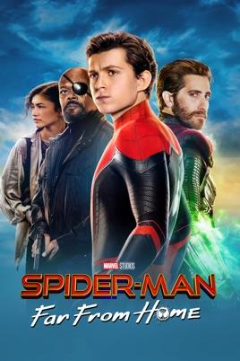 Spider-Man:Far from Home bei iTunes (in 4k) oder Amazon leihen