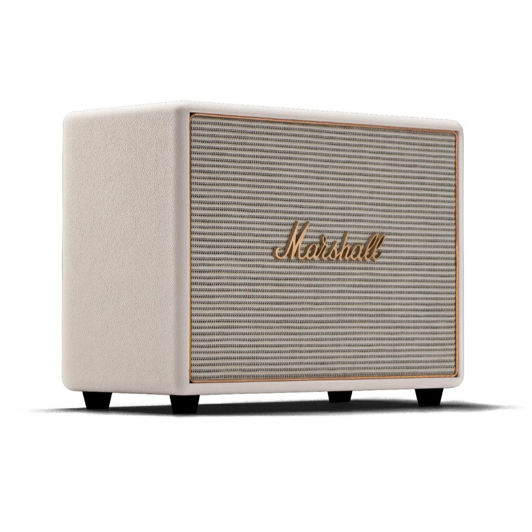 Marshall Woburn: Multiroom Lautsprecher (2x 15W Hochtöner, 2x 40W Tieftöner, 30Hz - 20kHz, Class-D, Spotify Streaming)