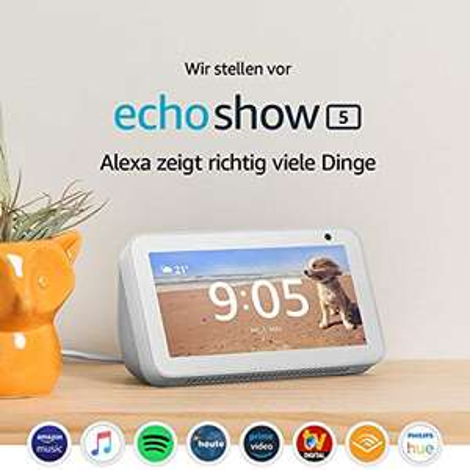 Amazon Echo Show 5 für 44,99€ inkl. Versand [Baur + Paydirekt]