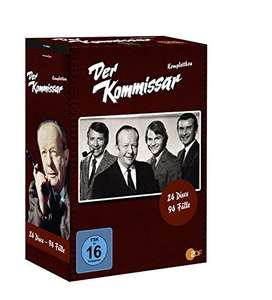 Amazon: Der Kommissar (Erik Ode) - Komplettbox 24 DVD