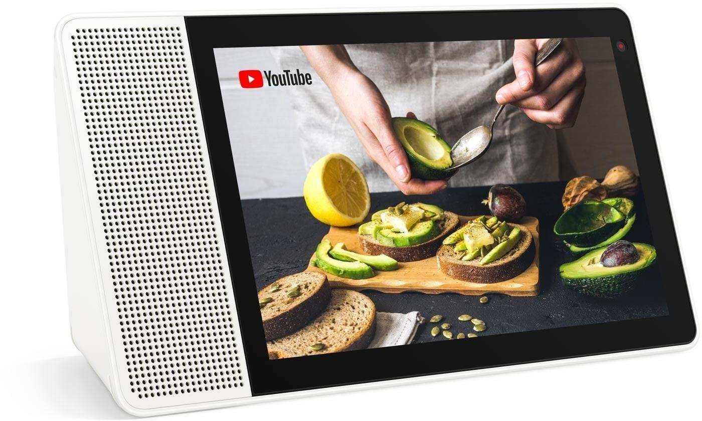 "Lenovo Smart Display 10"" (IPS, 1920x1200, WLAN, Bluetooth, Snapdragon 624, 2GB RAM, 5MP-Kamera, 10W Lautsprecher, Google Assistant)"