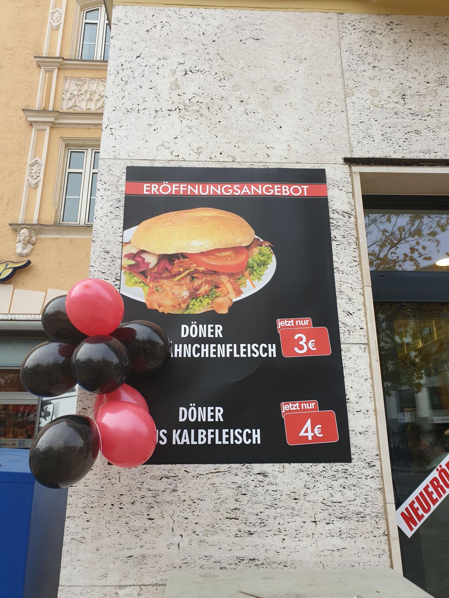 Lokal München Am Harras 15 Lokanta NEUERÖFFNUNG DÖNER 3,-€ bzw. 4,-€