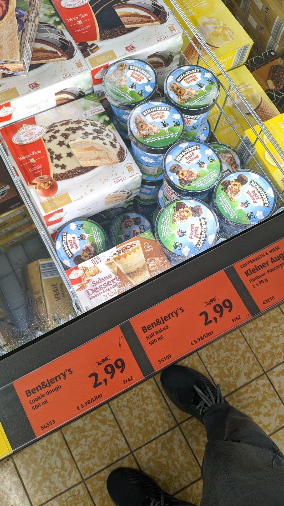 (LOKAL) Aldi Süd Limburg - Ben&Jerry's für 2,99€