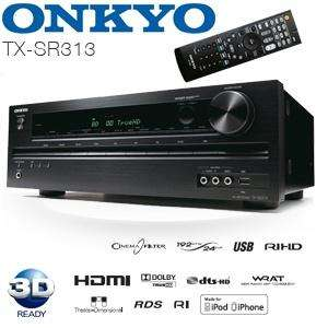 [iBood Hunt bis 7:00] Onkyo TX-SR313  5.1 AV-Receiver