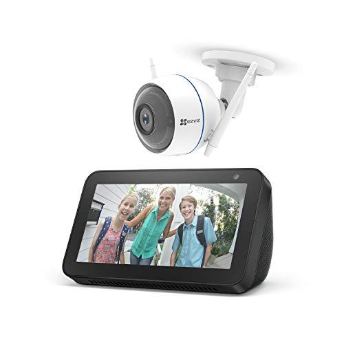 Echo Show 5 + EZVIZ ezTube 1080p Überwachungskamera