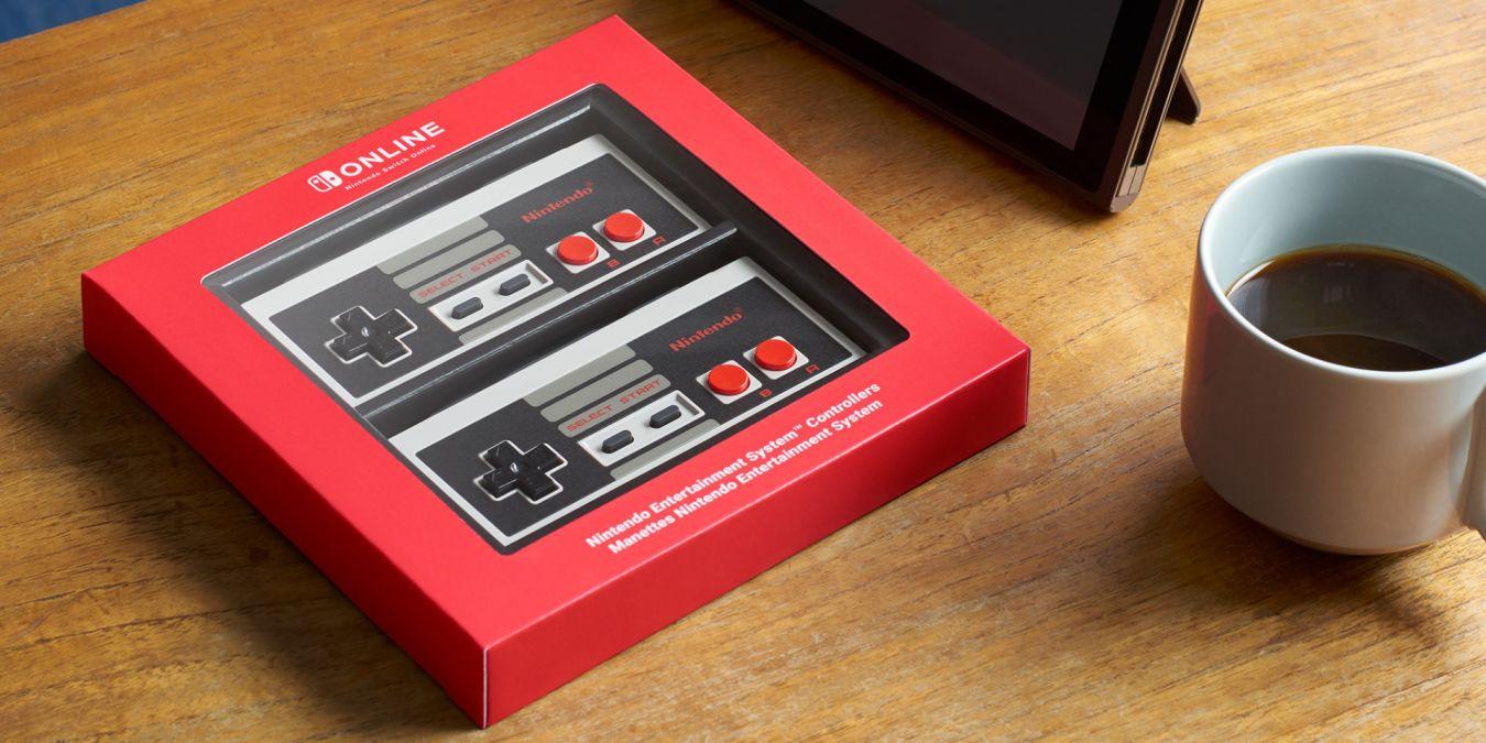 2 NES-Controller für Switch 20% reduziert