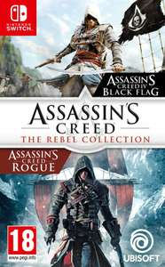 Assassin's Creed: The Rebel Collection (Assassin's Creed IV: Black Flag + Rogue Switch) für 28,95€ (Coolshop)