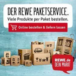 Versandkostenfrei auf ALLES von Rewe beim Paketservice! Fehler (ohne MBW!)