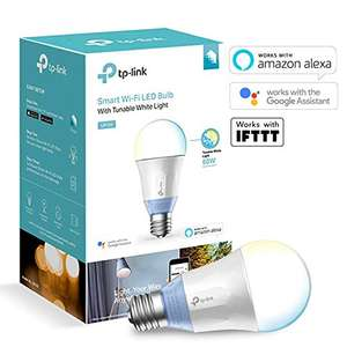 TP-Link LB120 Smarte LED-WLAN-Glühbirne mit einstellbarer Farbtemperatur - Blitzangebot Black Friday Woche