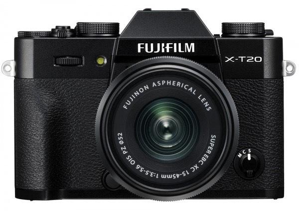 Fujifilm X-T20 Systemkamera inkl. XC15-45F3,5-5,6 Objektiv