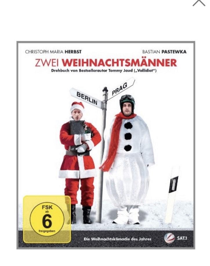 """[Amazon] Must-Have """"Zwei Weihnachtsmänner"""" Film als BLURAY mit Pastewka & Christoph Maria Herbst 7,97€"""