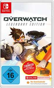 Overwatch: Legendary Edition + 3 Monate Nintendo Switch Online (Switch) für 21,99€ (Amazon Prime & GameStop)
