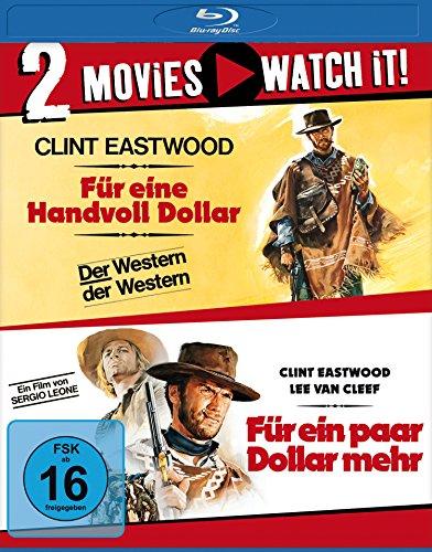 Für eine Handvoll Dollar + Für ein paar Dollar mehr (Doppelset Blu-ray) für 9,97€ (Amazon Prime & Dodax)