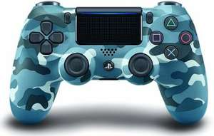 Sony DualShock4 Blue Camouflage Playstation Controller (Wireless) [Expert]