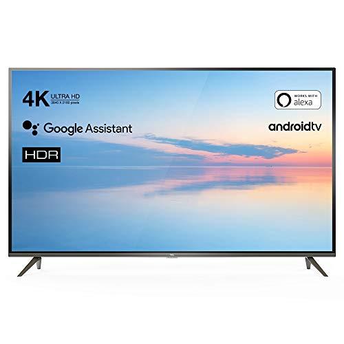 TCL43EP640 Fernseher 108 cm - (4K UHD, HDR10, SmartTV) - Schwarz