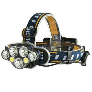 Bicycle Headlamp Xanes - 8 Modes, 2*18650 Battery USB