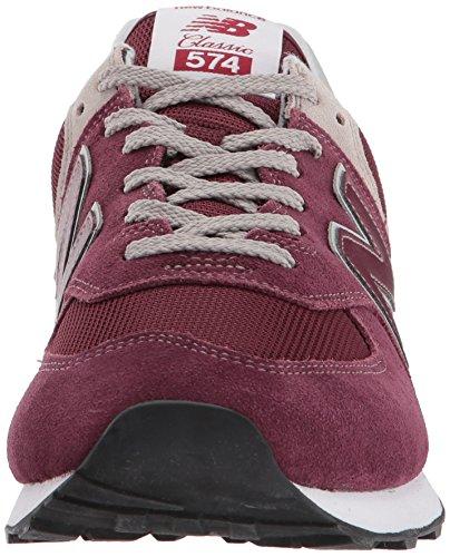 New Balance Herren 574v2 Core Sneaker; rot burgundy