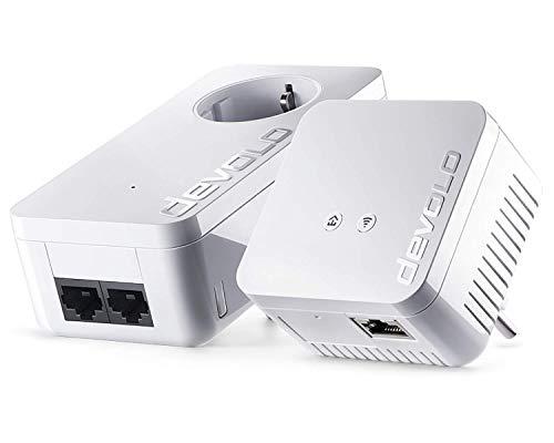 [Amazon] devolo dLAN 550 WiFi Starter Kit Powerline (2x Powerlan Adapter, 1x LAN Port)