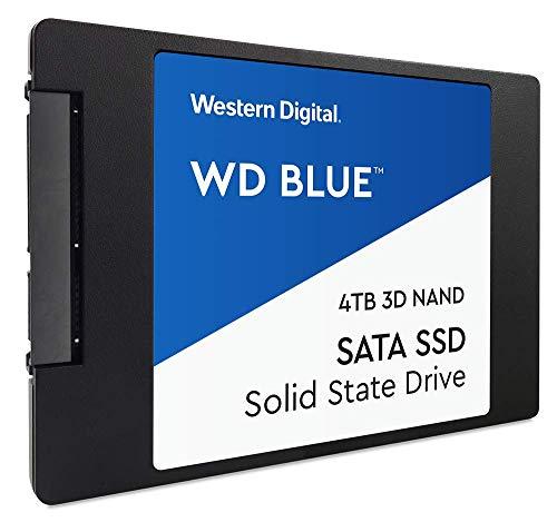 """Western Digital WDS400T2B0A WD Blue 4TB 3D NAND SSD 2.5"""" SATA [Amazon]"""