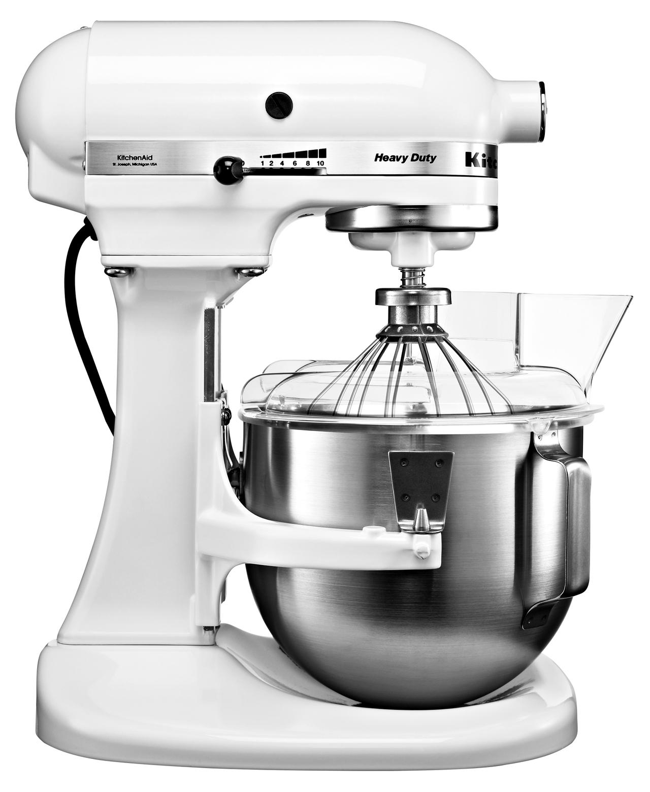 Kitchenaid Küchenmaschine 5KPM5EWH Heavy Duty, Weiß