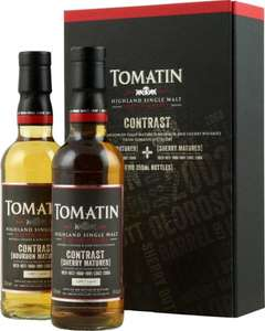 Tomatin Contrast Whisky Set | 2 x 0,35l 46% | Sherry & Bourbon Matured