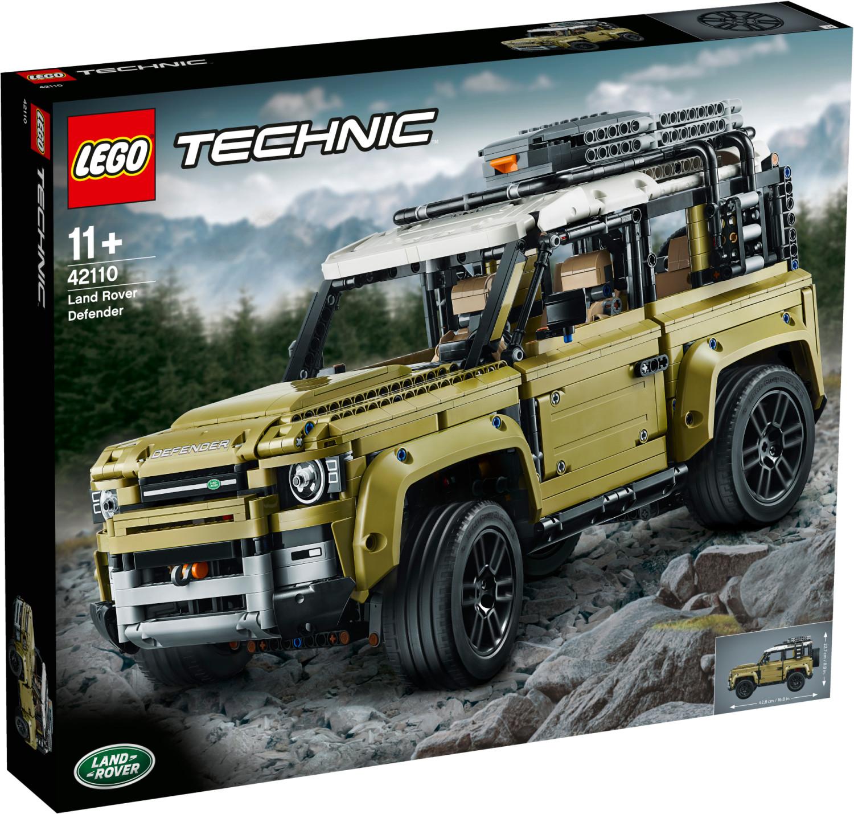 Lego 42110 Land Rover Defender zum Bestpreis (ohne F&F 145,-) mit Real F&F