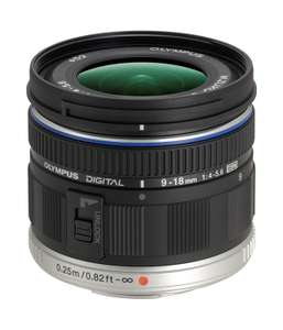 Olympus MFT 9-18mm UWW Objektiv (amazon.uk)