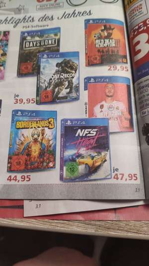Need for Speed Heat PS4 & FIFA 20 PS4 - Im Real (Family and friends) für 35,95€