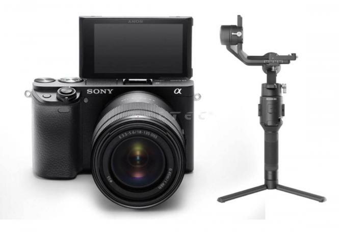 Sony Alpha 6400 + SELP1650 + Ronin SC