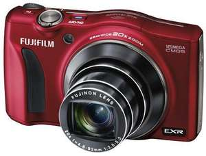 [Amazon UK] Fuji Finepix F800EXR in Rot, 16MP CMOS, 25-500mm, Wlan